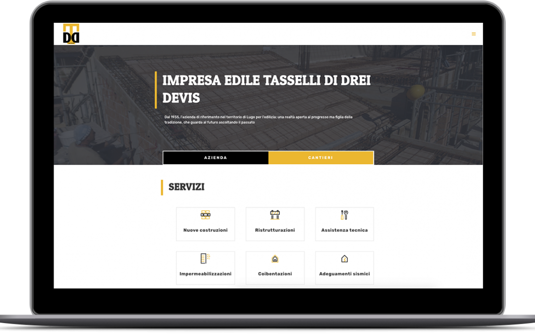 IMPRESA EDILE TASSELLI – Realizzazione sito