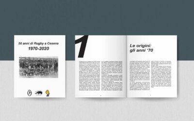"""Libro """"50 anni di Rugby a Cesena"""""""