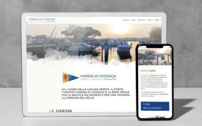 Marina di Chioggia, immagine coordinata e sito